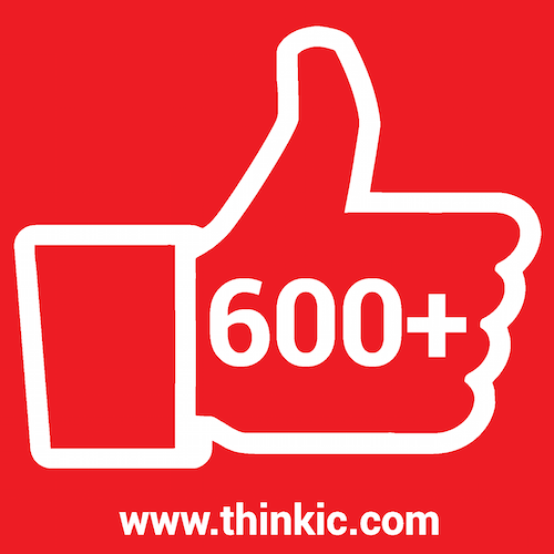 600+ Facebook Likes www.thinkic.com